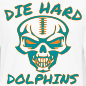Die Hard Dolphins  - Men's Premium Long Sleeve T-Shirt