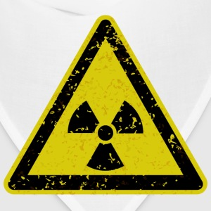 Grungy radiation warning sign - Bandana