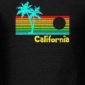 1980s Vintage Retro Calif - Men's T-Shirt