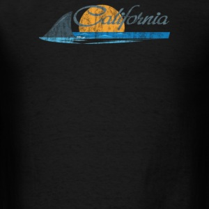 California Shark Fin - Men's T-Shirt