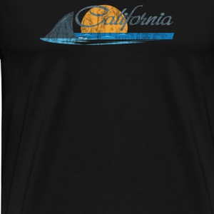 California Shark Fin - Men's Premium T-Shirt