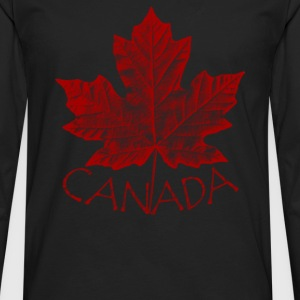 canada maple leaf souvenirs canada gifts - Men's Premium Long Sleeve T-Shirt