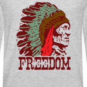 Chief Freedom - Men's Premium Long Sleeve T-Shirt