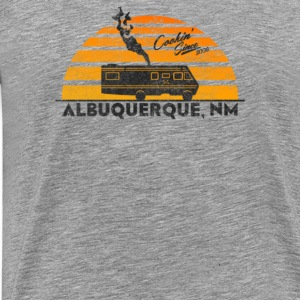 Cooking in New Mexico - Men's Premium T-Shirt