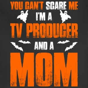 Cant Scare A TV Producer And A Mom T-shirt T-Shirts - Adjustable Apron