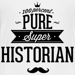 100 percent pure super historian Kids' Shirts - Toddler Premium T-Shirt