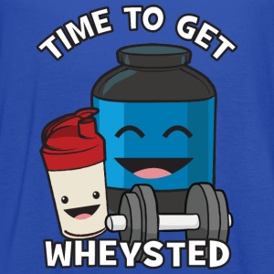 Time To Get Wheysted T-Shirts - Women's Flowy Tank Top by Bella