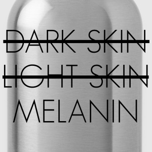 Dark skin light skin melanin T-Shirts - Water Bottle