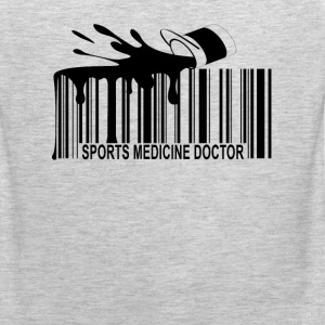 sports_medicine_doctor_barcode_ - Men's Premium Tank