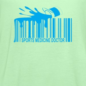 sports_medicine_doctor_barcode_ - Women's Flowy Tank Top by Bella