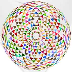 Colorful Toroid Mandala 5 - Bandana