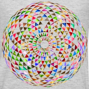 Colorful Toroid Mandala 5 - Men's Premium Long Sleeve T-Shirt
