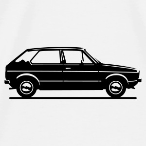 Mk1 Car Profile Other - Men's Premium T-Shirt