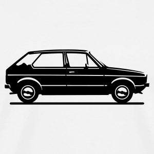Mk1 Car Profile Hoodies - Men's Premium T-Shirt