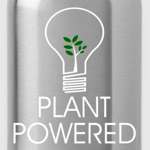 PLANT POWERED2.png T-Shirts - Water Bottle