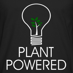 PLANT POWERED2.png T-Shirts - Men's Premium Long Sleeve T-Shirt