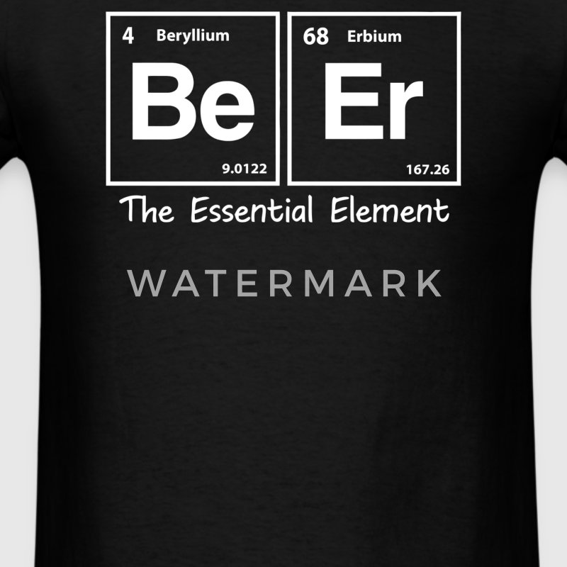 Elements of Beer - Men's T-Shirt