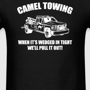 Camel Towing - Men's T-Shirt