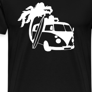 Camper Van Surf Split Retro - Men's Premium T-Shirt