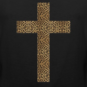 cross leopard - Men's Premium Tank