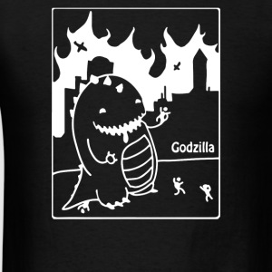 Cute Godzilla - Men's T-Shirt