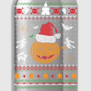 Ugly Christmas Sweater Halloween Edition Baby & Toddler Shirts - Water Bottle