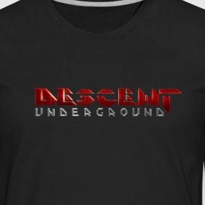 Descent: Underground Logo T-Shirts - Men's Premium Long Sleeve T-Shirt