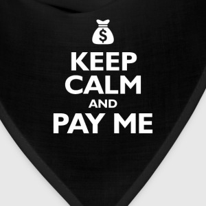 keep calm and pay me Kids' Shirts - Bandana