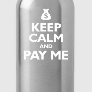keep calm and pay me Kids' Shirts - Water Bottle