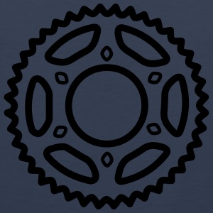 Bike Chainring T-Shirts - Men's Premium Tank