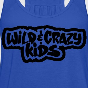 Wild & Crazy Kids T-Shirts - Women's Flowy Tank Top by Bella
