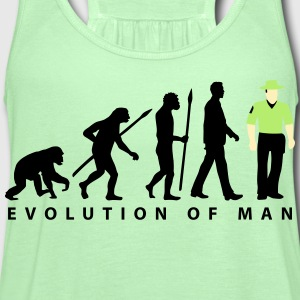 evolution_b_us_cop_police_marshall_09_20 T-Shirts - Women's Flowy Tank Top by Bella