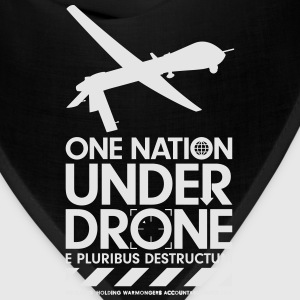 One Nation Under Drone - Support WikiLeaks Hoodies - Bandana