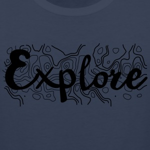 Explore Topo T-Shirts - Men's Premium Tank