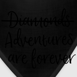 Diamonds, Nope Adventures are Forever T-Shirts - Bandana