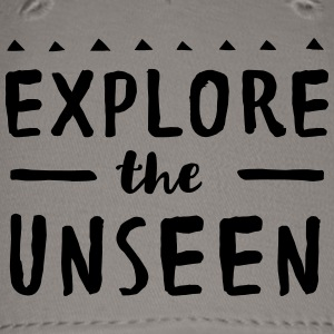 Explore the Unseen T-Shirts - Baseball Cap