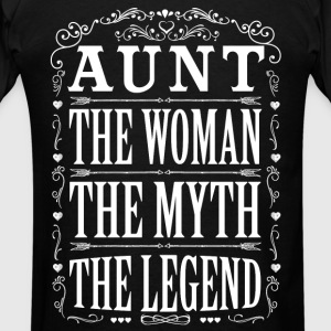 Aunt The Legend... Hoodies - Men's T-Shirt