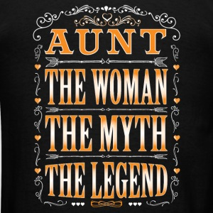 Aunt The Legend... - Men's T-Shirt