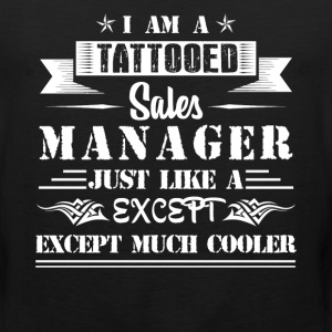 Tattooed Sales Manager - Men's Premium Tank