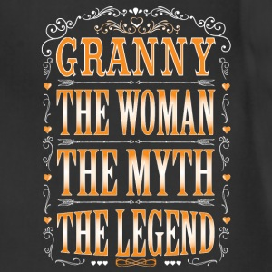 Granny The Legend... T-Shirts - Adjustable Apron