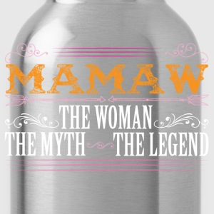 Mamaw The Legend... T-Shirts - Water Bottle