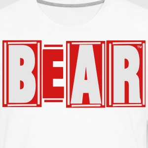 BEAR T-Shirts - Men's Premium Long Sleeve T-Shirt