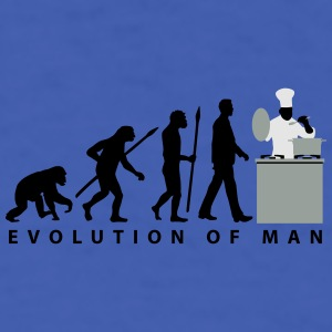 evolution_chief_with_pot_09_201601_3c Mugs & Drinkware - Men's T-Shirt