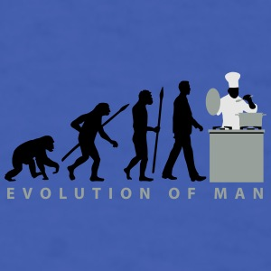 evolution_chief_with_pot_09_201602_3c Mugs & Drinkware - Men's T-Shirt