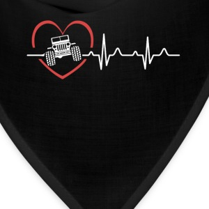 Jeep Heartbeat Shirts - Bandana