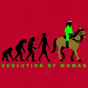 evolution_female_cop_on_horse_09_201603_ Mugs & Drinkware - Men's T-Shirt by American Apparel