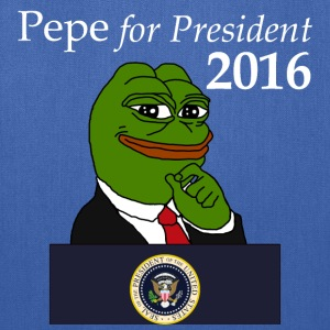 Pepe for President - blue - Tote Bag
