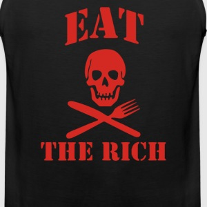 Eat The Rich - Men's Premium Tank