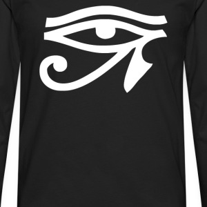 Eye Of Horus - All Seeing Eye Mason - Men's Premium Long Sleeve T-Shirt