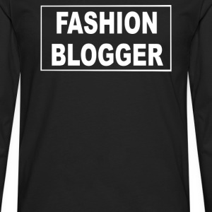 fashion blogger - Men's Premium Long Sleeve T-Shirt